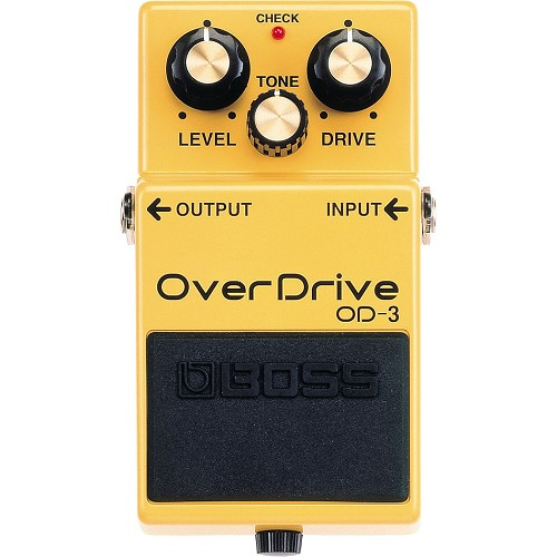 BOSS Guitar Effect OverDrive [OD-3] - Gitar Stompbox Effect